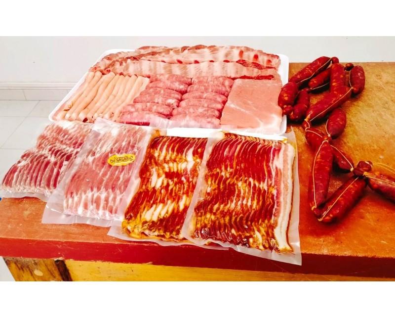 Carne y embutidos a la parrilla por San Juan